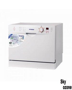 ماشین ظرفشویی هیوندای HDW6009 W,ظرفشویی هیوندای,ماشین ظرفشویی HDW-6009 هیوندای,ماشین ظرفشویی هیوندای 6 نفره,ماشین ظرفشویی 6 نفره هیوندای,HDW6009,ماشین ظرفشویی هیوندا رومیزی سفید HYUNDAI HDW-6009 W,ماشین ظرفشویی هیوندای مدل HDW-6009W
