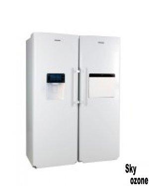 یخچال,فریزر,دوقلو,ES23W,الکترو,استیل,یخساز,اتوماتیک,نمایندگی,فروش,تهران,خدمات,پس,از,فروش,مشهد