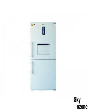 یخچال فریزر الکترواستیل یخسازدستی سفید چرم ES35W
