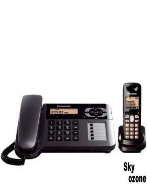 گوشی تلفن بی سیم پاناسونیک مدل Telephone KX-TG6461،تلفن،گوشی تلفن،تلفن بی سیم،تلفن بی سیم پاناسونیک،قیمت تلفن پاناسونیک،قیمت تلفن بی سیم پاناسونیک