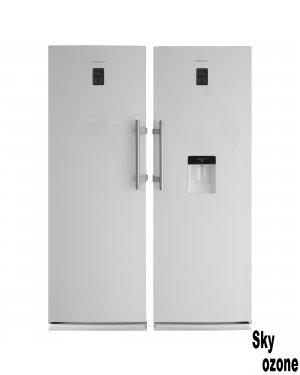 یخچال و فریزر دوقلو سفید یخساران مدل مروارید NR19-NF19