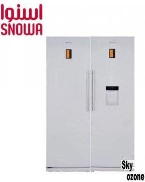 یخچال و فریزر دوقلوی سیلور اسنوا  مدل SR R388TI
